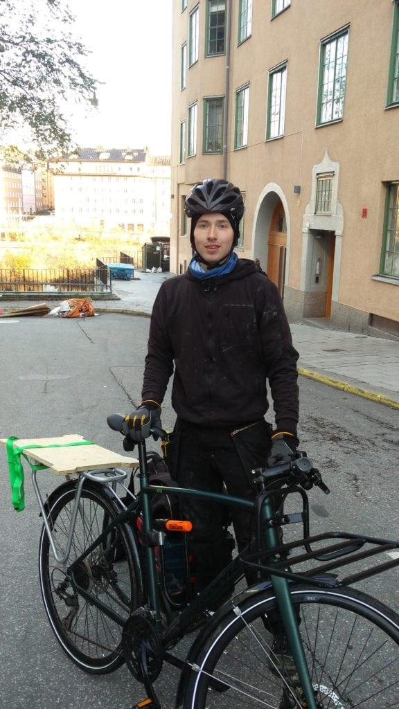 Elias - en av våra VVS-montörer