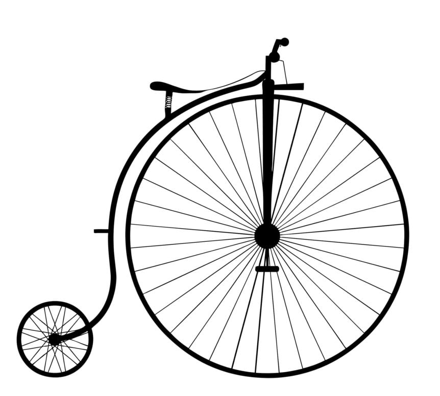 Höghjuling - Penny-Farthing