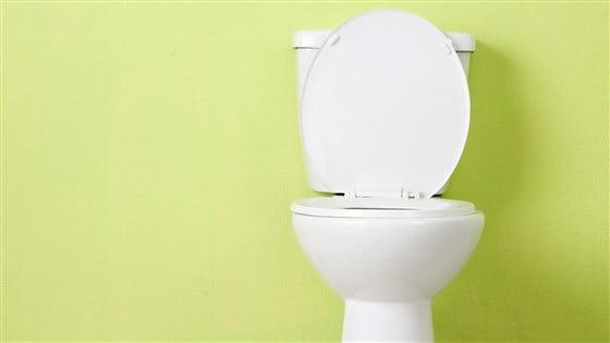 Rinnande toalett